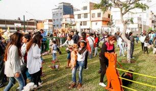 Los Olivos: inauguran parque exclusivo para mascotas