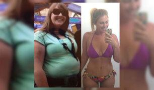 Su novio la humillaba por su sobrepeso. Ella lo dejó y así luce hoy [FOTOS]