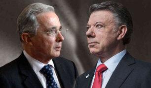 Colombia: Presidente Santos se reúne hoy con su antecesor Álvaro Uribe