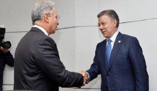 Juan Manuel Santos y Álvaro Uribe se reúnen por acuerdo de paz con las FARC