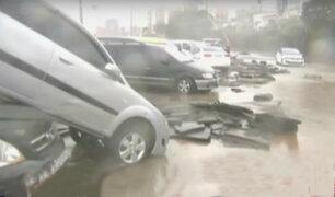 Corea del Sur: paso del tifón Chaba dejó 5 personas muertas