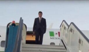 México: Presidente Peña Nieto usó avión presidencial para viajar con familiares y amigos