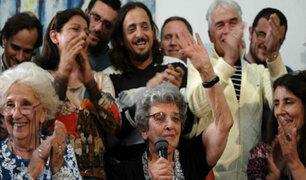 Argentina: Abuelas de Plaza de Mayo anuncian recuperación del nieto 121