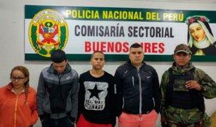 Chimbote: detienen a ciudadanos colombianos acusados de extorsión