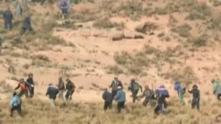Bolivia: denuncian que Policía usó armas letales en conflicto minero
