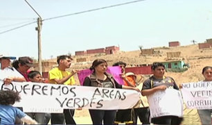 Pobladores denuncian a traficantes de terrenos en Pachacámac