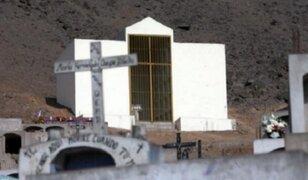 Mausoleo en Comas: niegan pedido de exhumación de restos de terroristas