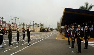 Presidente Kuczynski encabeza ceremonia por aniversario de la Marina y Combate de Angamos