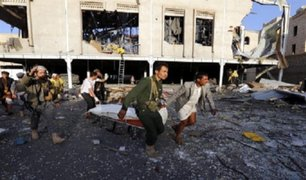 Yemen: más de 100 muertos tras bombardeo en funeral