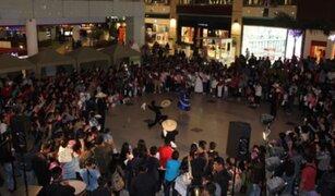 Celebran Día de la Marinera con flashmob en conocido centro comercial