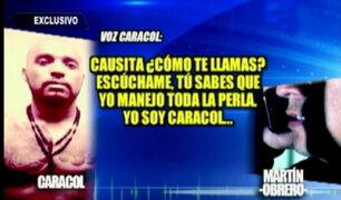 'Caracol': negocios y amenazas coordinadas desde el penal Sarita Colonia