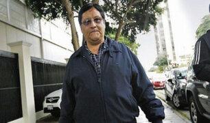 Carlos Moreno asegura que solo fue exonerado de acudir a su centro de trabajo