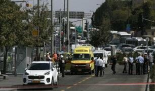 Atentado de Hamas deja dos muertos en Jerusalén
