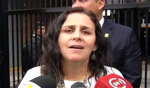 Ministra de Salud se pronunció sobre denuncia contra Carlos Moreno