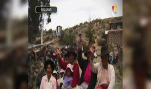 Ayacucho: el agua llegó a la comunidad de Llunchi
