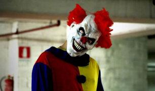 "VIDEO: broma del ""payaso asesino"" casi termina en tragedia"