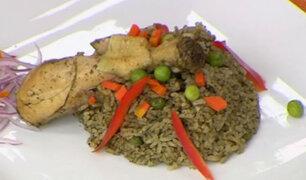 María Jesús de Gamero nos prepara un riquísimo arroz con pollo