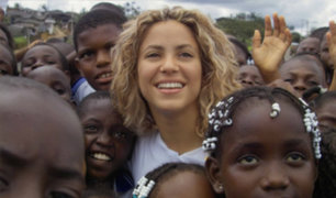 Shakira donó 15 millones de dólares para damnificados en Haití