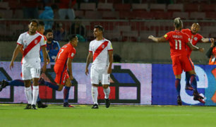 Perú perdió 2-1 ante Chile y complica sus chances de clasificar a Rusia