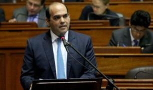 Fernando Zavala y Patricia García respondieron ante el Congreso por caso Carlos Moreno
