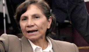 Declaran infundado pedido de Elena Iparraguirre para que le sea entregado cuerpo de Abimael Guzmán