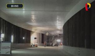 MML: obra del túnel Benavides en etapa final