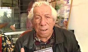 Cómico Guillermo Campos pide ayuda y pensión de gracia a PPK