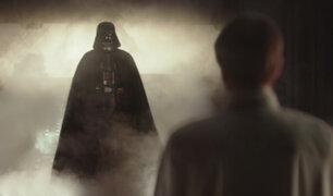 """Nuevo tráiler de """"Rogue One"""" con más imágenes de Darth Vader"""