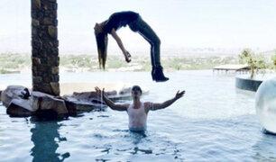 Ilusionista Criss Angel eleva a Belinda
