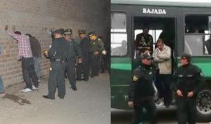 Desarticulan organización criminal que operaba en Huaral y Chancay