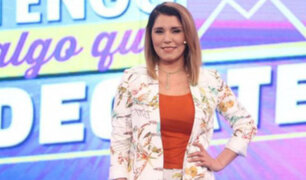 Lady Guillén: de bailarina a conductora de TV