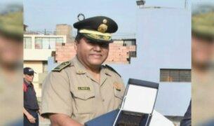 Detienen a comisario de Chancay por integrar banda delincuencial