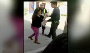 Mujer embarazada agredió a personal médico de hospital en Santa Anita