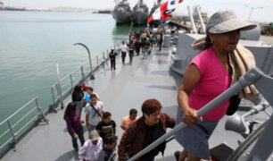 Base Naval del Callao abrió sus puertas al público