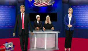 Paren esta vaina: hilarante parodia sobre el debate entre Trump y Clinton