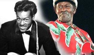 Chuck Berry cumple 90 años y lanza nuevo disco