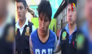 Vraem: capturan a sujeto acusado de violar a niña