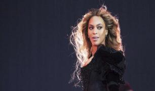 EEUU: Beyoncé sangró en pleno concierto