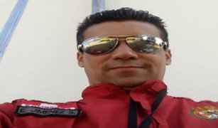 Familiares y amigos recuerdan a valeroso bombero Eduardo Jiménez Soriano