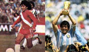 Diego Armando Maradona celebra 40 años de su debut como profesional