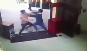 Ica: cámaras registraron pelea entre trabajadores de agencias de turismo