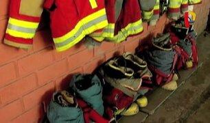 Lima: compañías de bomberos operan en precarias condiciones