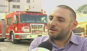 Conmovedor relato de bombero que logró sobrevivir a incendio