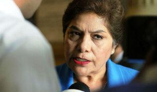 Luz Salgado denuncia campaña de desinformación tras denuncia contra el Congreso