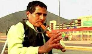 Iván Oviedo: 'El flautista de los conciertos'