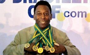 Pelé cumple hoy 75 años de edad