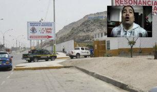 Comas: sicarios matan a balazos a sujeto dentro de hospital de Collique