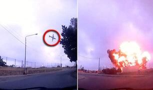Cinco muertos al estrellarse una avioneta en Malta