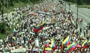 Venezuela: realizan protestas para exigir revocatorio contra Maduro