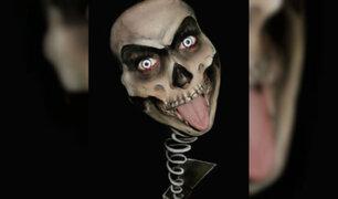 """Facebook: Una chica """"se transforma"""" en esta aterradora criatura [VIDEO]"""